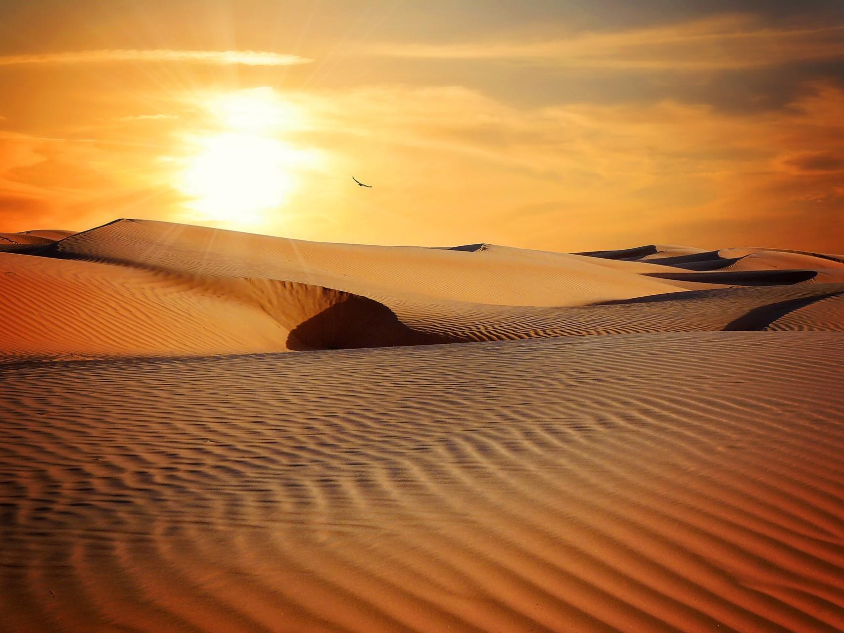 Na poušti